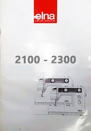 Elna 2300 Sewing Machine