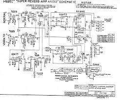 1968 1981 silver face super reverb aa1069 super reverb schematic