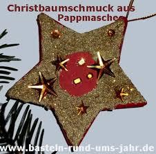 Christbaumschmuck Aus Pappmaschee Basteln Rund Ums Jahr