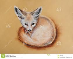 fennec fox drawing. Delighful Fox Fennec Fox In Fox Drawing S