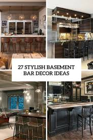 basement bar ideas. 27 Stylish Basement Bar Decro Ideas Cover T