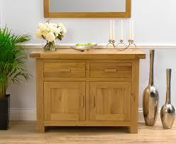 bruges 120cm solid oak sideboard camberley oak 2 door