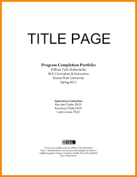 Cover Page Example For Resume Title Page Resume Demire Agdiffusion Resume Title Page Example