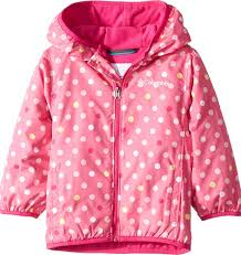 Kids Baby Girls Mini Pixel Grabber Ii Wind Jacket Infant Toddler Wild Geranium Polkadot 12 18 Months