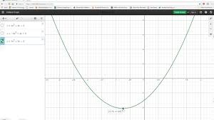 graphing quadratic equations using desmos