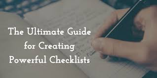 Creating A Checklist The Ultimate Guide For Creating Powerful Checklists The Adhd Nerd