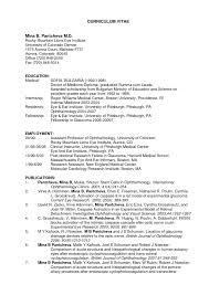 Ideas Of Medical School Resume Format Harvard Admissions Example