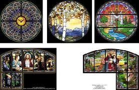 traditional and modern style church design our team of stained glass window