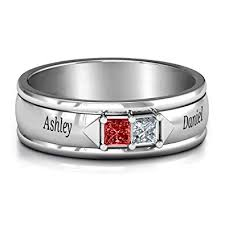 Sterling Silver Mens Timeless Romance Ring By Jewlr