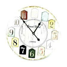 outdoor atomic wall clock large captivating silver clocks decorative la crosse technology 18