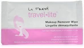 image is loading la fresh travel lite makeup remover wipes natural