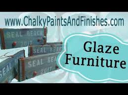 How to Glaze a Piece of Furniture using Chalky Paints
