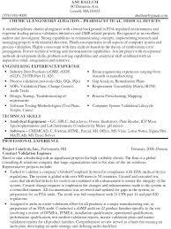 Medical Device Quality Engineer Sample Resume 6 15 Chemical Samples
