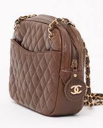364 best VINTAGE CHANEL BAGS images on Pinterest | Beige shoulder ... & Vintage Chanel brown quilted shoulder bag Adamdwight.com