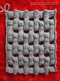 Basket Weave Knitting Pattern