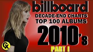 Billboard Decade End Chart 2010s Top 100 Albums Part I