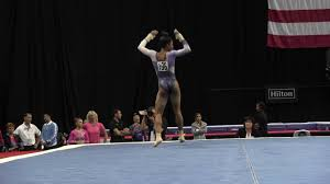 Concept Floor Gymnastics Gabby Douglas Exercise 2016 Championships Sr For Design Inspiration