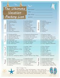 Vacation Packing Checklist Pdf The Ultimate Vacation Packing List Dabbles Babbles