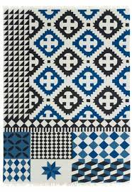 black and white rug patterns. Wonderful And With 10 Distinct Patterns In Black Blue And White Sandra Figuerolau0027s  Palermo Wool In Black And White Rug Patterns H