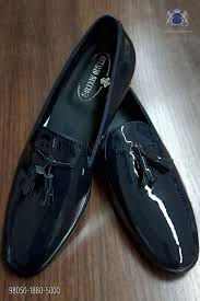 blue patent leather shoes loading zoom