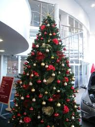 Following are some get this red and silver christmas tree