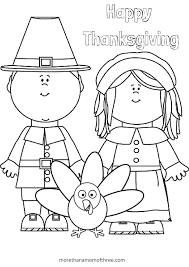 Indian Thanksgiving Coloring Pages Printables New Color By Number