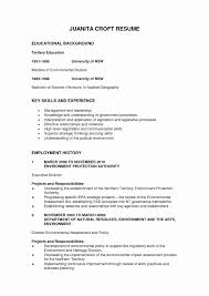 How To Format Education On Resume Beautiful Educational Background