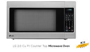 lg lcrt2010st 2 0 cu ft microwave oven