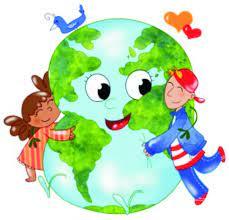 Nasz planeta Ziemia – praca plastyczna w grupie Pszczółek | Przedszkole  międzynarodowe Pod Magnolią Kraków Czyżyny