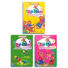 Sách - Trò chơi dành cho trẻ mầm non (Bộ 3 quyển + lẻ tùy chọn)