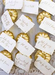 Fall Place Cards 11 Fall Wedding Escort Card Ideas