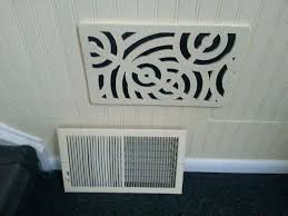 decorative wall vent covers wood design metal 2