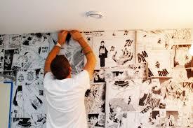 anime mural wall wise craft handmade