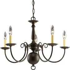 progress lighting americana collection 5 light antique bronze chandelier progress lighting americana collection 5