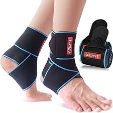 Beister <b>Adjustable</b> Compression Ankle Brace, <b>Elastic Foot</b> Support ...