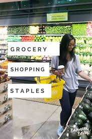 Grocery Store Product List Whats In My Cart Weekly Grocery Staples Grocery List And Meal