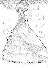 Chibi Anime Coloring Pages Anime Coloring Pages On And Books
