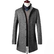 whole 78 woolen overcoat men brand clothing high quality mens wool coat men jacket new mandarin collar mens coats overcoats wuj1157 overcoat men mens