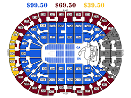 Quicken Loans Seating Chart Quicken Loans Seating View Quicken Loans Arena Seat View