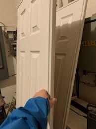 4 ft closet sliding doors and tracks like new