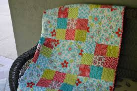 Big Block Quilt Patterns Stunning 48Patch Big Block Quilt Tutorial