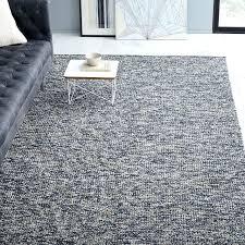 looped texture wool rug midnight west elm colca flax area rugs