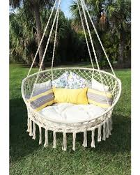 Bliss Hammocks Large Rope Hammock Chair