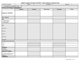 weekly syllabus template lcsd high school lesson plan template syllabus pinterest musical