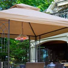 image of patio electric outdoor heater ideas