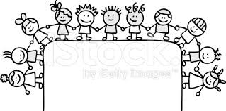 Border Black And White Children Clipart Border Black And White Clipartxtras