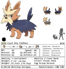 Herdier Evolution Chart Images Of Lillipup Evolution Chart Www Industrious Info