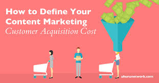 customer acquisition cost content marketing customer acquisition cost