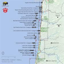 Oregon Coast Map 101 Secretmuseum