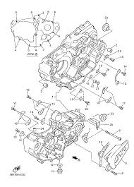 1999 yamaha yz400f yz400fl crankcase parts best oem crankcase on 80 carburetor diagram for schematic search